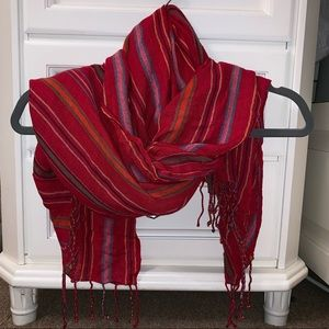 Accessories - Multicolor Striped Scarf